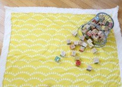 How to Sew a Simple Baby Blanket (Even if You're a Sewing Novice)