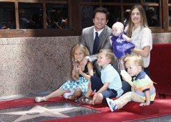 Mark Wahlberg's Family Celebrates His Star On Hollywood Walk Of Fame