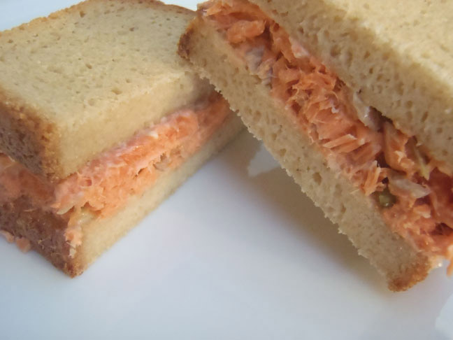 Glazed Salmon sandwiches 3