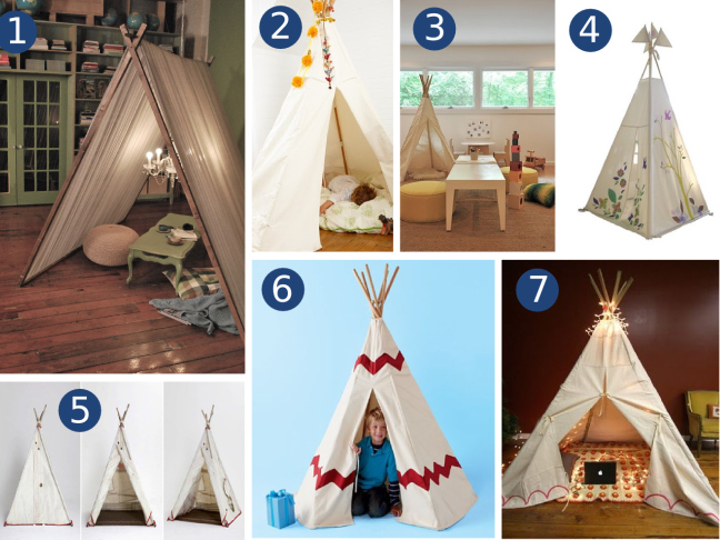 Tent And Teepee Fun!