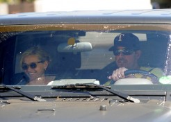 Reese Witherspoon Goes For A Spin With Her Boyfriend