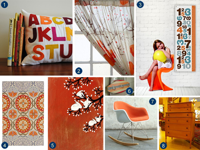 Decorating With A Touch Of Orange
