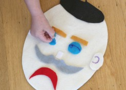 DIY Felt Faces