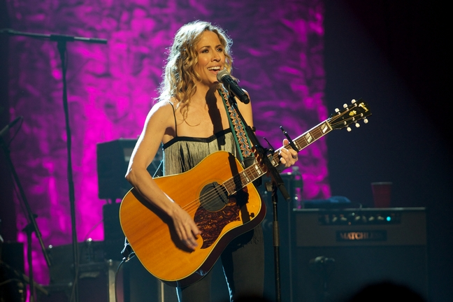 Sheryl Crow, guitar