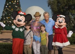 Michael Douglas And Catherine Zeta-Jones Head To Disney World With Their Kids