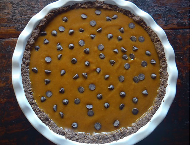 Chocolate Persimmon Tart5