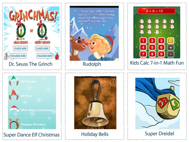 KIDS HOLIDAY APPS
