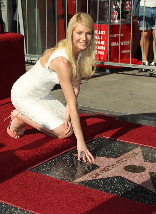 Gwyneth Paltrow, white dress, Hollywood star