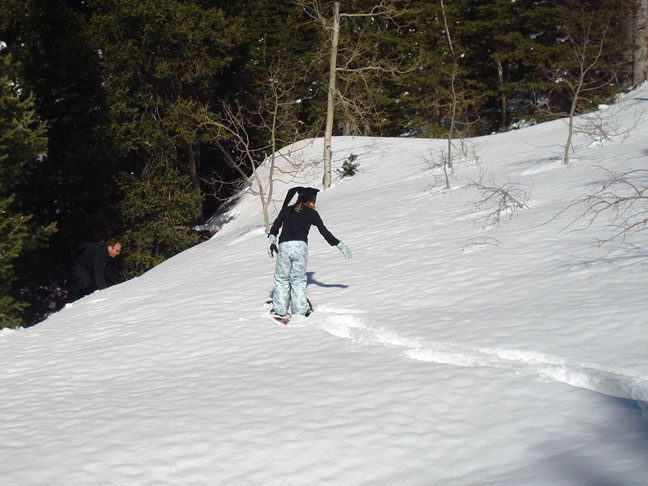 Snowshoeing for Winter Exercise2