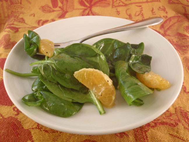 Warm Satsuma Salad