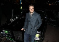 "Seth Rogen And Cameron Diaz Attend Premiere Of ""The Green Hornet"""