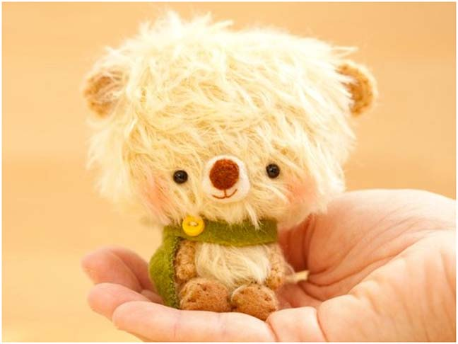 CUTE FREE PATTERN of Bear Amigurumi doll - Use it as a Bag charm ... | 486x648