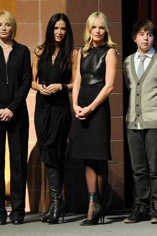 Demi Moore, black dress, Kate Bosworth, Black dress