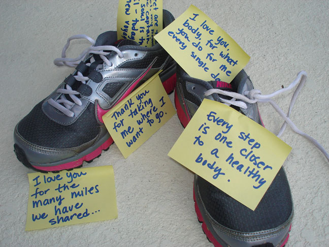 Love Notes that Might Help You Stay Motivated in your Workouts