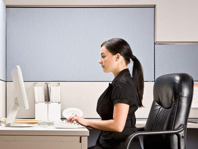 Simple Exercises to Improve Y9our Posture-seated