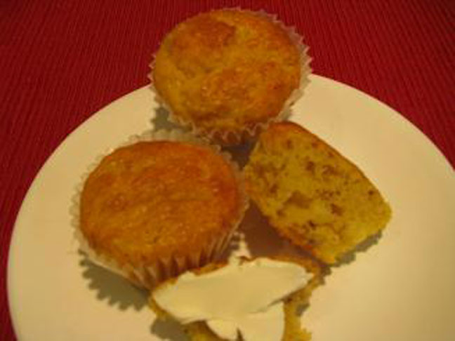 Butternut Banana Mini Muffins