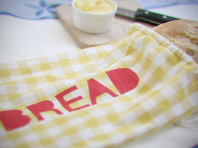 CLOTH BREAD BAG