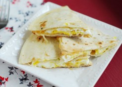 Quick and Easy Breakfast Quesadillas