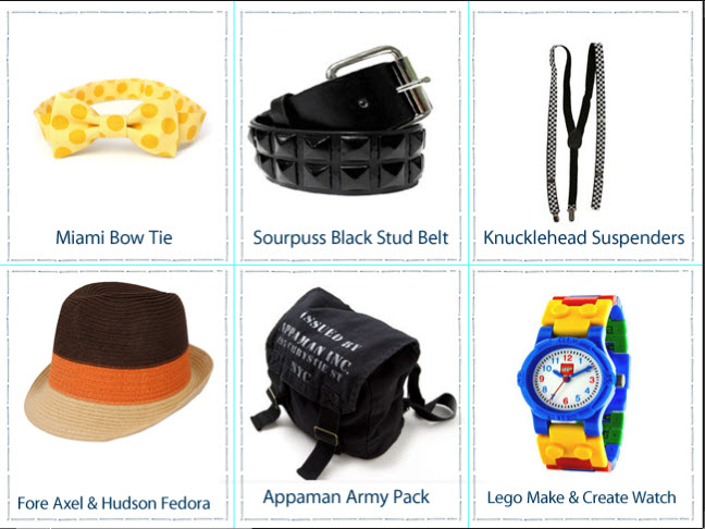 Back To Cool 6 Awesome Accessories For Boys