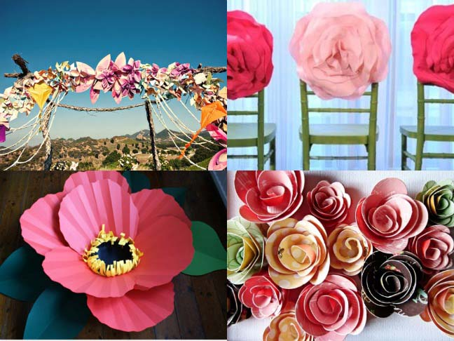 Colorful oversized flowers paper flowers mightylinksfo