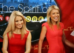 Kelly Ripa Unveils Her Wax Twin At Madame Tussauds