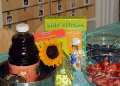 Fab Fruit Gelatin and Free Giveaway from Fiona Bird's Kid's Kitchen