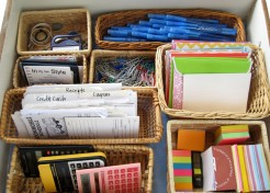 Organize Your Desk Drawer: Pick A Style