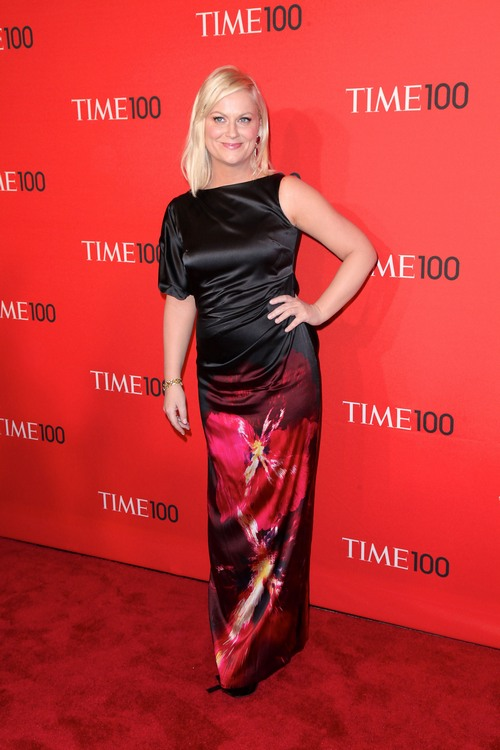 amy poehler black dress,