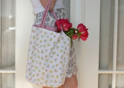 DIY: Sewing a Simple Market Tote