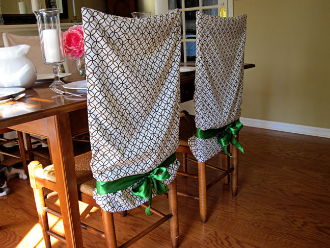 How to Make Chair Covers and Pillow Cases