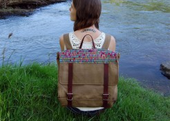 Handmade Canvas and Leather Bags By Shelter