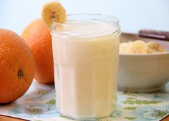 Orange Vanilla Smoothie