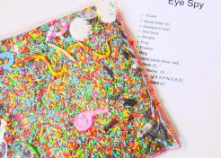 DIY 'I Spy' Activity Bag