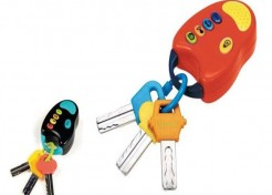 Toy Keys with Remote Recalled Due to Choking Hazard