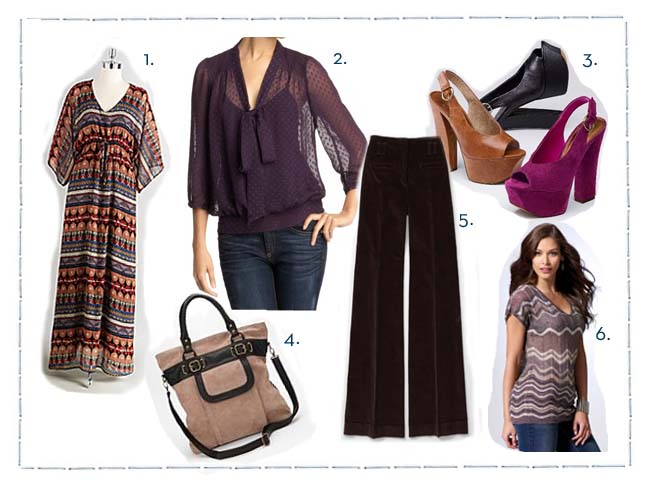 Fall Trend: 70s Style