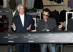 Marc Anthony Unveils His New Clothing Line For Kohl's
