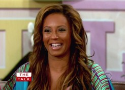 Melanie Brown Was Happy To Have A Supportive Partner With This Pregnancy