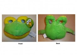 Target Recalls Kid's Frog Face Mask due to Suffocation Hazard