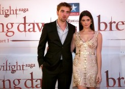 Robert Pattinson And Ashley Greene Bring 'Breaking Dawn' To Belgium