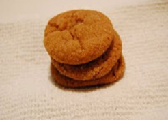 Molasses Cookies for Fall