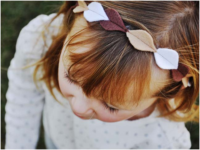 DIY: Autumn Head Crown
