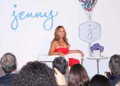 Mariah Carey Is Announced As The Brand Ambassador For Jenny Craig
