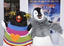 Celebrities Attend The 'Happy Feet Two' Premiere