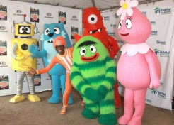 Yo Gabba Gabba! Live Brings Out Celebrity Families
