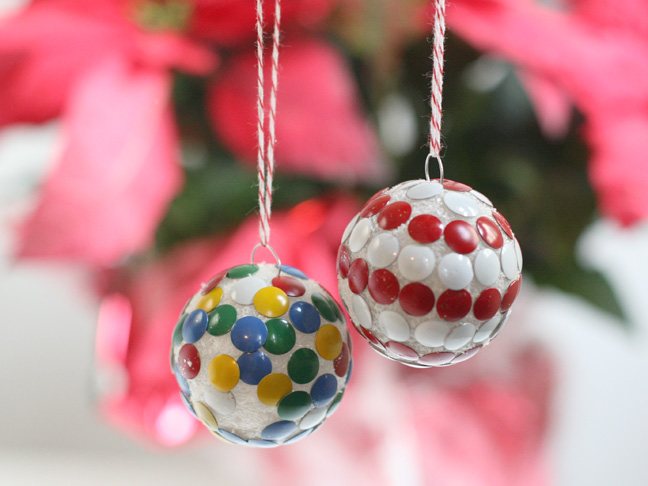 Kids activity thumbtack ornaments for 2 year old christmas ornaments crafts