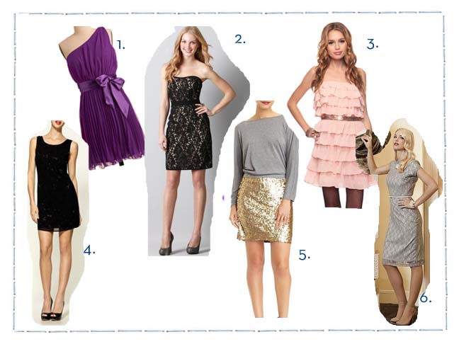 Festive Party Dresses (for under $100)