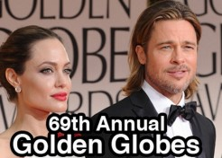 Red Carpet Fashion: 2012 Golden Globe Awards