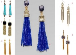 Trend Alert: Tassel Earrings
