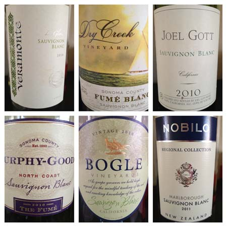 Top 10 Sauvignon Blanc Wines Under $10
