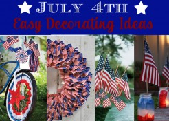 4th of July: Decorate With Flags